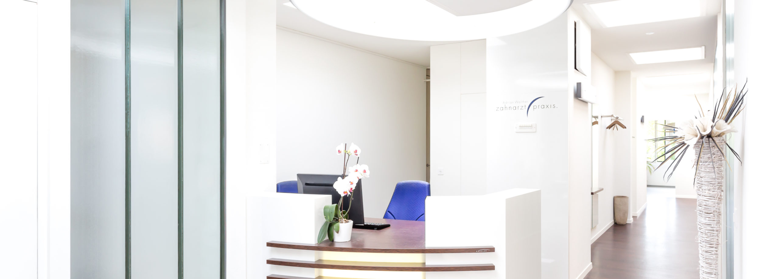 Eingangsbereich zahnarzt-aarau.ch